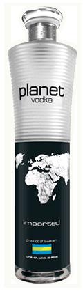 Planet Vodka Bottle