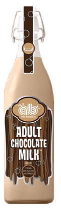 Adult Chocolate Milk Bottle with swig top