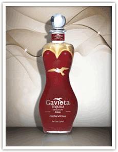 Red Custom tequila Bottle