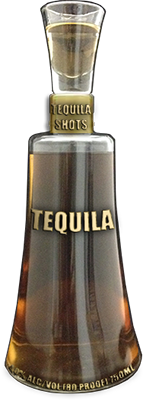 Decorated Custom Shot glass Bottle