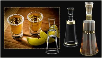 Custom Shot glass Bottle