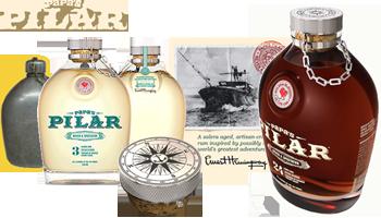 Pilar Custom Rum Bottle